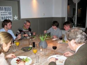 avondmaaltijd in restaurant SamSam Meerssen